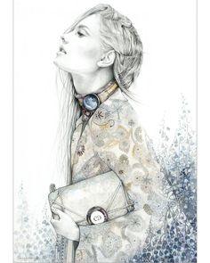 Fashion illustration // Magdalena Kruszynska