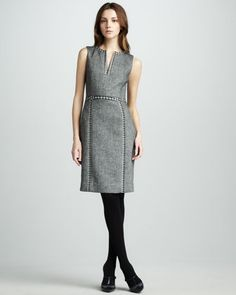 Cornelia Tweed Dress by Tory Burch at Bergdorf Goodman.