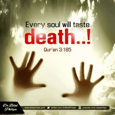 Islamic Quotes On Death, Islamic Quotes In English, Beautiful Islamic Quotes, Islamic Images, English Quotes, Quran Verses, Quran Quotes, Divine Revelation, Quran Pak