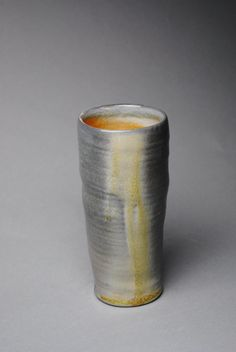 Clay Tumbler Wine Cup Wood  Soda Fired K1 by JohnMcCoyPottery, $28.00