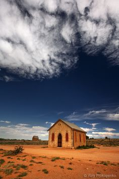 Outback Church.  Silverton, Outback NSW Australia