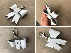 Mothers Day Gifts – Gift Ideas Anywhere Diy Leather Projects, Leather Craft, Leather Bow, Mother In Law Gifts, Sister Gifts, Crea Cuir, How To Make Leather, Diy Keychain, Keychains
