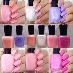 Uma's Nail Art: Zoya Spring 2016 Petals Collection Swatches and Re...