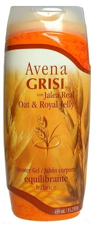 GRISI OAT SHOWER GEL DE AVENA PARA LA REGADERA  Oat soap stimulates, softens and moisturizes skin Grisi Soap, liquid, oat, avena, soap Oat soap ayuda and helps reduce excess skin oiliness