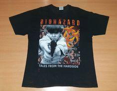 9a50321e8ab6 Vintage 1995 BIOHAZARD State of the World Address US Tour Concert Promo  hardcore hip hop album rare T-shirt t shirt