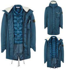 Stone Island, Military Jacket, Jackets, Fashion, Stone Island Outlet, Down Jackets, Moda, Field Jacket, Fashion Styles