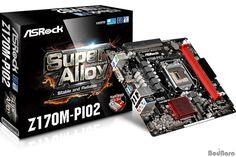 슬림형 PC를 위해 PCIe x16 슬롯 눕힌 메인보드, ASRock Z170M-PIO2 출시 :: 보드나라