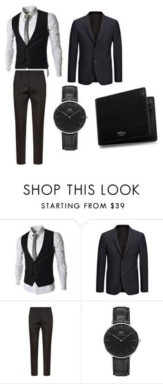 """""""January 29 2017"""" by juicy33399 ❤ liked on Polyvore featuring Joseph, Dsquared2, Daniel Wellington, Mulberry, men's fashion and menswear"""