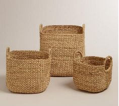 Keep clutter beautifully at bay with our Aimee Arrow Baskets. Handwoven of renewable water hyacinth with an elegant arrow design, they deliver sensible storage and distinctive style. Large Toy Storage, Lp Storage, Towel Storage, Record Storage, Smart Storage, Office Storage, Kitchen Organization, Storage Organization, Storage Ideas