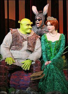 Shrek the Musical. You haven't lived if you havent heard/seen this musical!