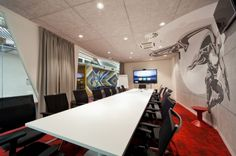 Alfa Bank Moscow Office. Boardroom ideas.
