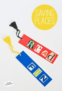 Cute Homemade Bookmarks for Teacher Appreciation or a fun craft activity for a Sunday School kids group to make