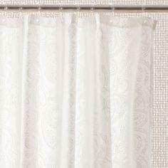 Paisley Shower Curtain - Shower Curtains - Bathroom | Zara Home United Kingdom £19.99 Bathroom Shower Curtains, Paisley Shower Curtain, Zara Home, United Kingdom, The Unit, England