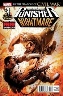 Punisher - Nightmare #3 Scott Gimple Mark Texeira ---> shipping is $0.01 !!!