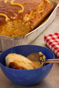 Orange Malva Pudding Malva Pudding, Recipe Search, Outdoor Cooking, French Toast, Deserts, Baking, Orange, Breakfast, Recipes