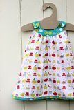 I saw this cute dress at Prudent Baby and since Spring is right around the corner - Lord willing - I thought this would be swell to make fo...