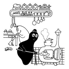 11 Best Barbapapa Pics Images Coloring Pages Colouring Pages