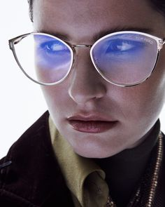 TOM FORD Optical Frames offer ready-to-wear blue block lenses. Explore the collection.  #TOMFORD #TFEYEWEAR