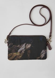 Leather Statement Clutch - BIRD/OISEAU by VIDA VIDA XTrOI4Gzb