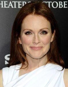 Julianne Moore at the Carrie Premiere // Makeup by Elaine Offers