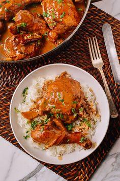 Chicken Adobo Recipe, by thewoksoflife.com