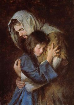 The Lord Jesus Christ. Our Heavenly Father sent His Son, Jesus Christ, to be our Savior and show us the way to true happiness by living. Images Du Christ, Pictures Of Jesus Christ, Lds Art, Bible Art, Catholic Art, Religious Art, Arte Lds, Miséricorde Divine, Morgan Weistling