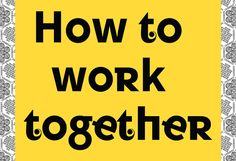 Chisenhale Gallery, The Showroom and Studio Voltaire present How to work together