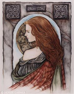 Boudicca - Boudica was a queen of the British Celtic Iceni tribe who led an uprising against the occupying forces of the Roman Empire. Irish Celtic, Celtic Art, Celtic Fantasy Art, Celtic Pride, Celtic Warriors, Illustration Art, Illustrations, Celtic Mythology, Celtic Goddess
