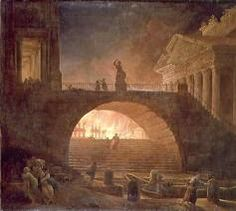 Ancient Rome on fire!
