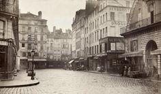 Marville : rue de la Lingerie, des Halles Centrales - Paris 1er 1865