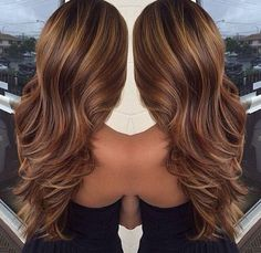 If the stylist says I.cant get all over color then caramel highlights. A lot!