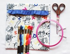 images about Crochet Hook Case and Sewing Traveling Kits on