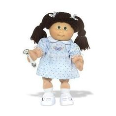 Cabbage patch kids. Mine was named Allison