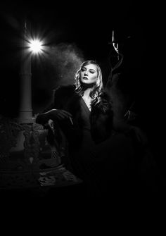 Film Noir by David Crewe, via Behance