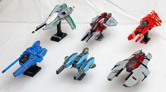 #LEGO Vic Viper Collection