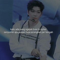 K Quotes, Ulzzang Kids, Cartoon Jokes, Reminder Quotes, Quotes Indonesia, Exo, K Idol, Kpop Aesthetic, Fangirl