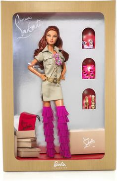 Christian Louboutin Dolly Forever Barbie Doll $105