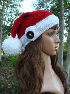 8cbdb120e25 32 Best Knit Santa Hats  (Ready to Ship) images