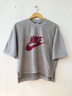 Vintage 90's NIKE Sweatshirt with Big Logo Spell Out Printed Sweater Jumper Pullover Swag Hip Hop Streetwear Adult Oversize L VSS111 by fiestorevintage on Etsy