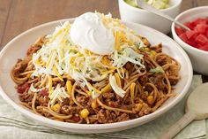 FACT: Kids love pasta. FACT: Kids love tacos. Put it together and what do you get? A surefire dinnertime hit.