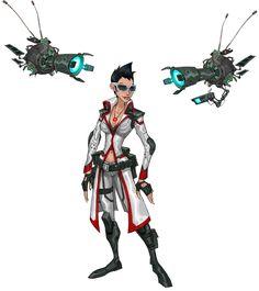 Artemis Zin--I voice this character in Wild Star