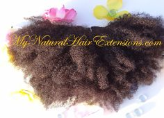 My Natural Hair Extensions is a top of the line afro kinky for african american women. The brand really stands behind it's product and customer service. I've never used a line that was so nice and well maintained as mynaturalhairextensions.com