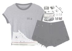 """""""//18//"""" by alex-bows ❤ liked on Polyvore featuring мода, Converse, Retrò, Domo Beads и Luv Aj"""