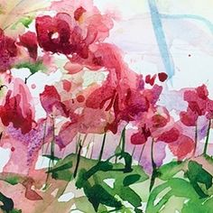 Paint some flowers today! #sketching