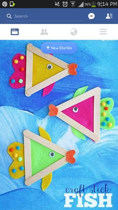 Ice cream stick craft