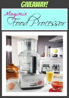 Monday Giveaway- Magimix Food Processor worth $400!!!! ohsweetbasil.com