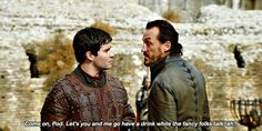 """""""Jerome Flynn (Bronn) and Lena Headey (Cersei) dated & it ended on such bad terms that their contracts state they cant share a scene together"""" Bronn Game Of Thrones, Game Of Thrones Screencaps, Brienne Of Tarth, Cersei Lannister, Daniel Portman, Jerome Flynn, The North Remembers, Night King, Some Games"""