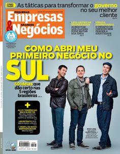 Edição 283, agosto de 2012. Capa especial da região Sul.