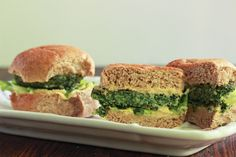 Spinach and Chick Pea Burgers 3