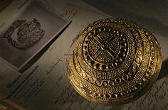 Krottdorf gold hat, Sky Disk; Bronze Age; Ancient Cultures; Germany